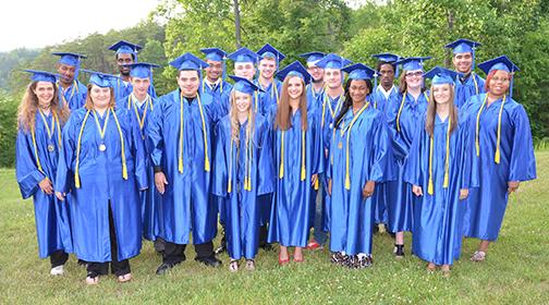 Middle College graduates